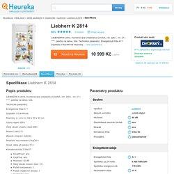 Specifikace Liebherr K 2814 - Heureka.cz