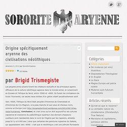 Origine spécifiquement aryenne des civilisations néolithiques