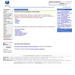Abondance : Moteurs de recherche spécifiques et thÈmatiques