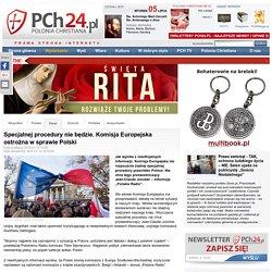 12 I: Specjalnej procedury nie będzie. Komisja Europejska ostrożna w sprawie Polski