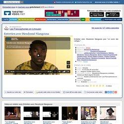 Entretien avec Dieudonné Niangouna - Vidéo (2011)
