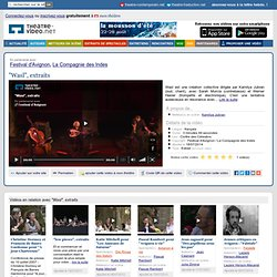 extraits video @ concert festival d'Avignon