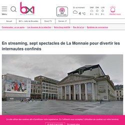 En streaming, sept spectacles de La Monnaie pour divertir les internautes confinés