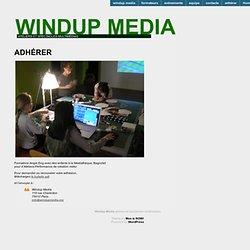 Windup Media | ateliers et spectacles multimédias