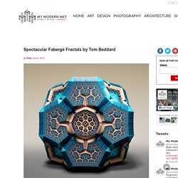 Spectacular Fabergé Fractals by Tom Beddard