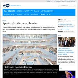 Spectacular German libraries