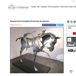 Spectacular Incomplete Horseman Sculptures