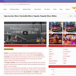 Spectacular Disco Turntable/Disco Tagada /Tagada Disco Rides
