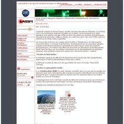 Laboratoire de Spectrométrie Ionique et Moléculaire - Introduction