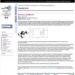 Spectroscopie RMN et IR