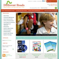 Autism Store, PECS, Autism Books, Autism Video, ABLLS, Autistic Resources | Different Roads to Learning