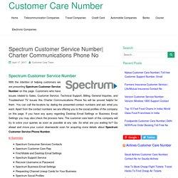 Spectrum Customer Service Number