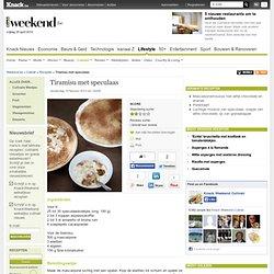 Tiramisu met speculaas - Recepten - Culinair