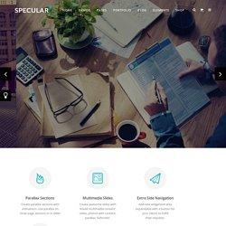 Specular – Responsive Multi-Purpose Theme