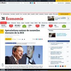 Spéculations autour de nouvelles mesures de la BCE - Le Monde 2/01/15