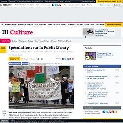 Spéculations sur la Public Library