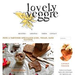 Pâte à tartiner Spéculoos [Cru, vegan, sans gluten] - LovelyVeggie