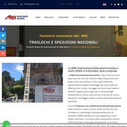 Guida per traslochi e spedizioni nazionali a Roma