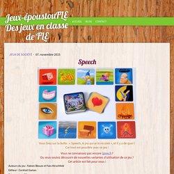 Speech - Des jeux pour apprendre le FLE