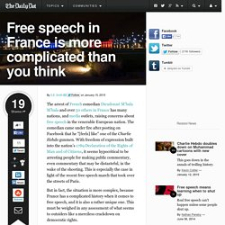 Free speech in France is more complicated than you think