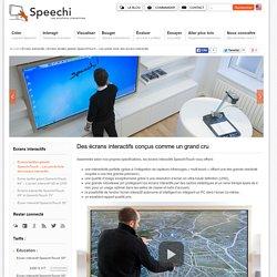 Ecrans tactiles géants SpeechiTouch - Les points forts des écrans interactifs