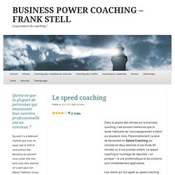 BUSINESS COACHING - FRANK STELL