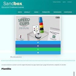 Speed Cups – Sandbox Educación