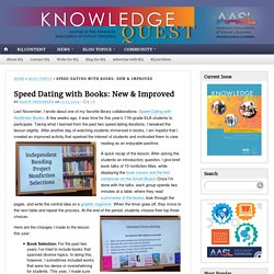 Speed Dating with Books: New & Improved