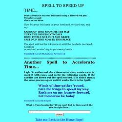 speeduptime