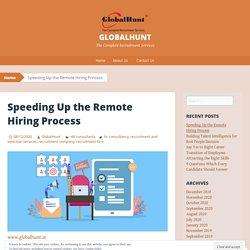 Speeding Up the Remote Hiring Process