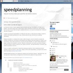 speedplanning: Cómo validar una idea de negocio