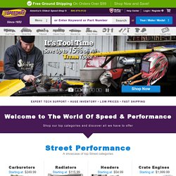 Speedway Motors - Street Rod Parts, Race Parts, Ford Flathead Parts, Sprint and Midget Racing Parts, Pedal Car Parts