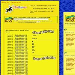 KidsSpell.com - Free Spelling Resource For Kids