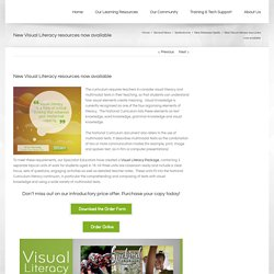 Spellodrome's Visual Literacy Package for Australian Schools
