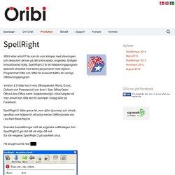 SpellRight