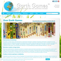 Over Earth Games - Earth Games - Spelmaterialen met een positieve invloed