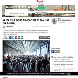 Spencer en Twikit zijn start-up en scale-up van het jaar - Ondernemen