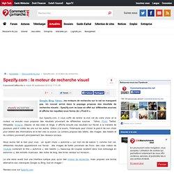 Spezify.com : le moteur de recherche visuel