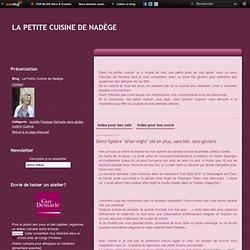"""Demi-Sphère """"after-eight"""" (et en plus, sans blé, sans gluten) - La Petite Cuisine de Nadège"""