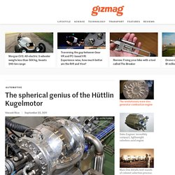 The spherical genius of the Hüttlin Kugelmotor