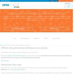 Afficher des panoramas sphériques avec jQuery - Le LAB : OpenStudio innove et partage ses développements libres