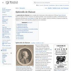 Sphéroïde de Clairaut