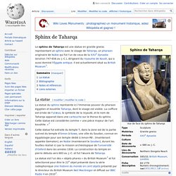Sphinx de Taharqa