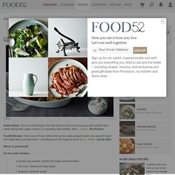 Spiced Roast Chicken with Za'atar Yoghurt recipe on Food52.com