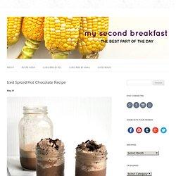 Iced Spiced Hot Chocolate Recipe