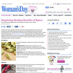 Herbs and Spices - Health Benefits of the Spices at WomansDay.com