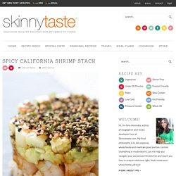 Spicy California Shrimp Stack
