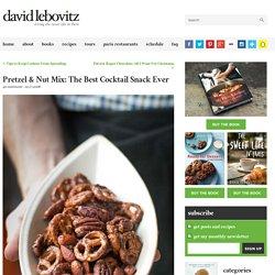 Spicy Pretzel and Nut Mix