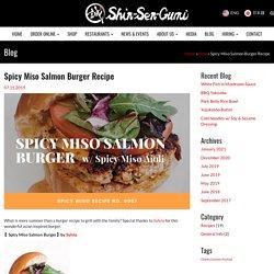 Spicy Miso Salmon Burger Recipe