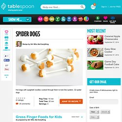 Gross Finger Foods Recipes